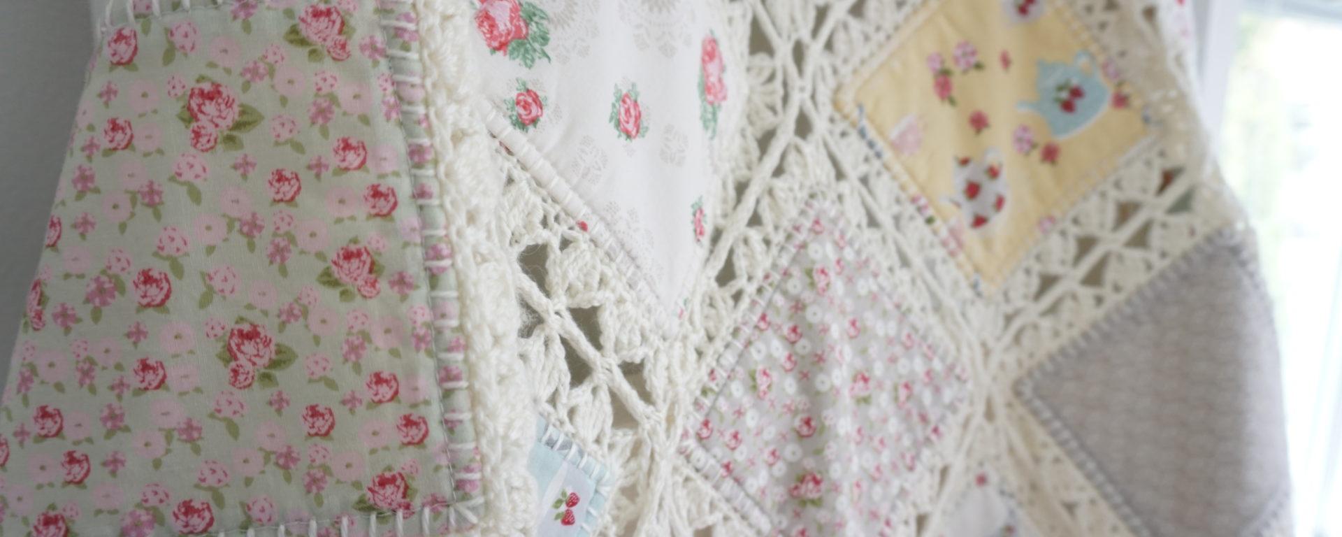 High tea crochet fusion quilt tutorial updated fanny - Set de table crochet ...